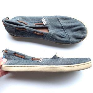 TOMS Slip-on Adjustable Strap Loafers Shoes